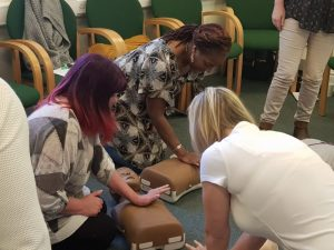 First aid training for foster parents